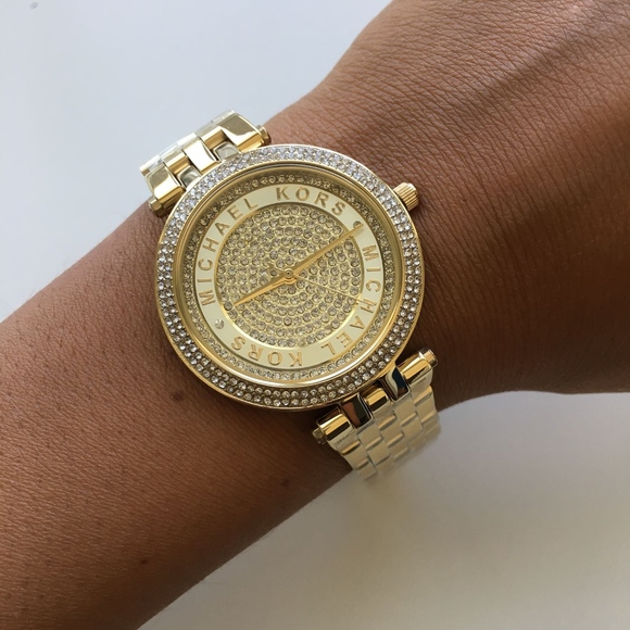 7a2b992cac9c BRAND NEW Michael Kors Gold Ladies Watch Mk3445